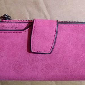 Handbags - Never used Fuschia wallet.